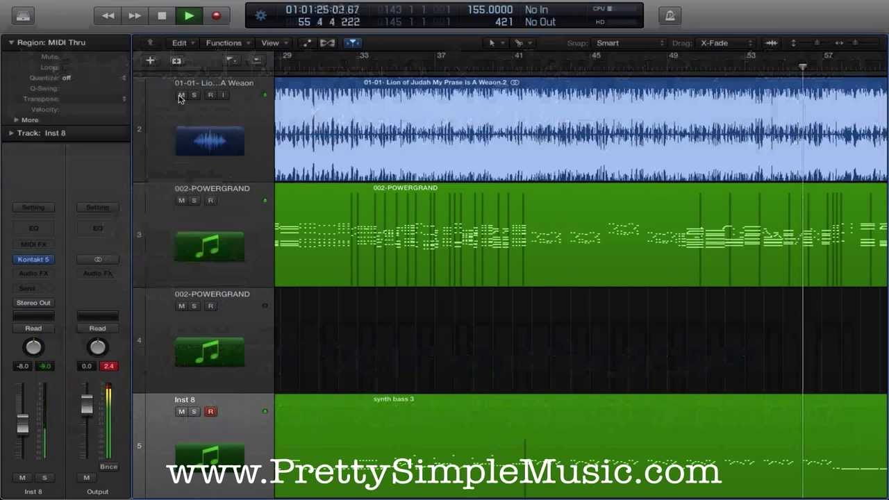 how to create music stems