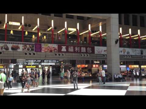 A tour of Taipei Main Station in Taiwan
