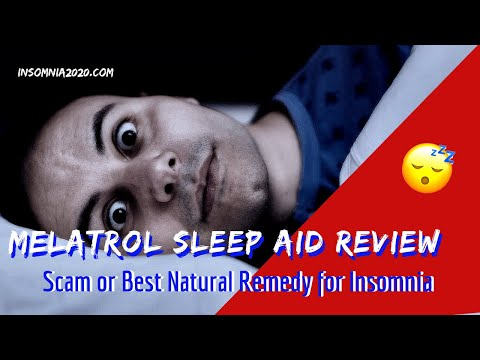 Melatrol Sleep Aid Review : Scam or Best Natural Remedy for Insomnia