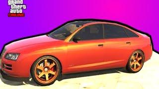 GTA 5 Где найти машину Майкла Online (Tailgater  Obey)