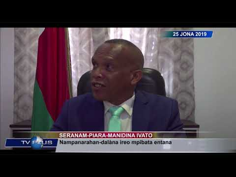 VAOVAO DU 25 JUIN 2019 BY TV PLUS MADAGASCAR