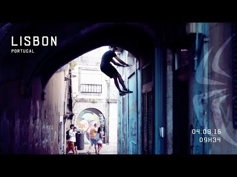 Parkour in Lisbon for a day!
