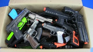 Gun toys - Box of Toys ! Military&Police Guns Toy - Video for kids