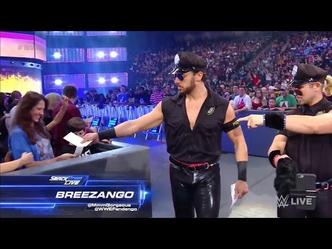 Breezango entrance