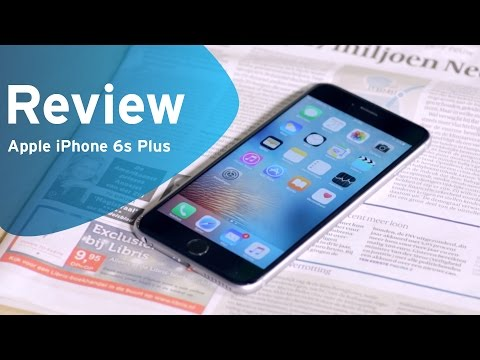 Apple iPhone 6s Plus review (Dutch)