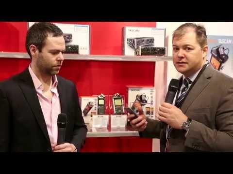 Tascam DR-WL Handheld Linear PCM Recorder Series - NAMM 2015