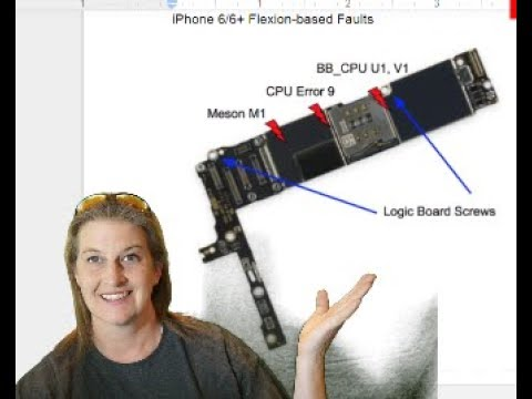 iPhone 7 Signature Failures--Error 4013/BB_PMU, Audio ic and the Fault Line