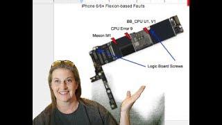 iPhone 7 Signature Failures--Error 4013/BB_PMU, Audio ic and the Fault Line