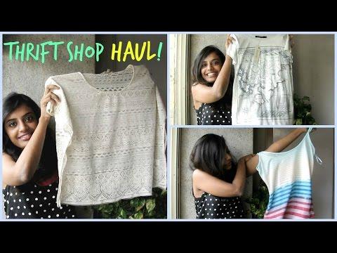 Thrift Shop Haul : Affordable Fashion! (Mumbai)