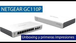 Unboxing y primeras impresiones del switch NETGEAR GC110P thumbnail