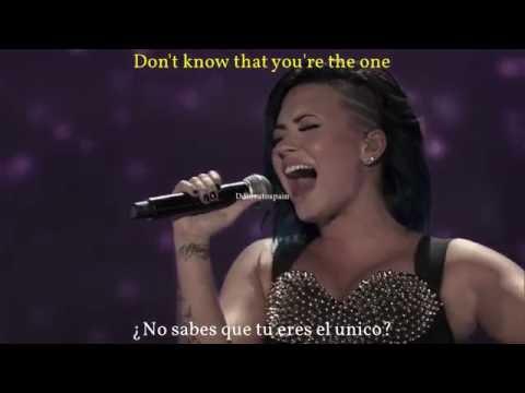 Demi Lovato-My Love Is Like A Star[Sub Español/English]Live