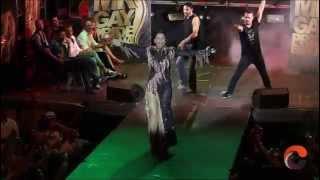 Katia Aveiro en la gala de Mr Gay Pride España 2014 (Orgullo de Madrid)