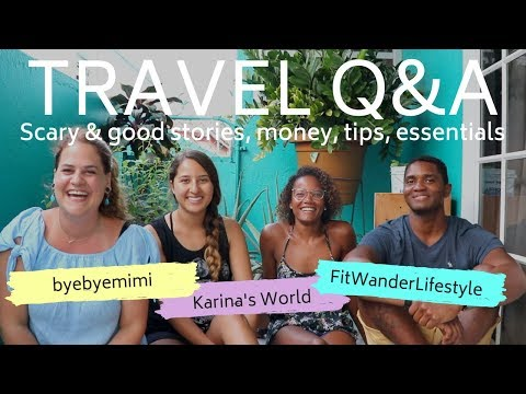 TRAVEL Q&A - SCARY PLACES, MONEY, DO'S AND DONT'S | CURACAO