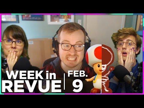 Toad Heads & Cloverfields — WEEK IN REVUE, Feb. 9, 2018