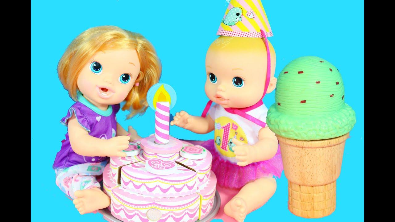 Baby Alive Dolls Birthday Party W Melissa Amp Doug Toys