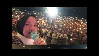 Deen Assalam - Konsert live Sabyan Gambus di Batulicin buat Nisa nangis terharu 2018
