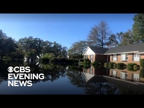 Floodwaters continue to rise in the Carolinas after Florence