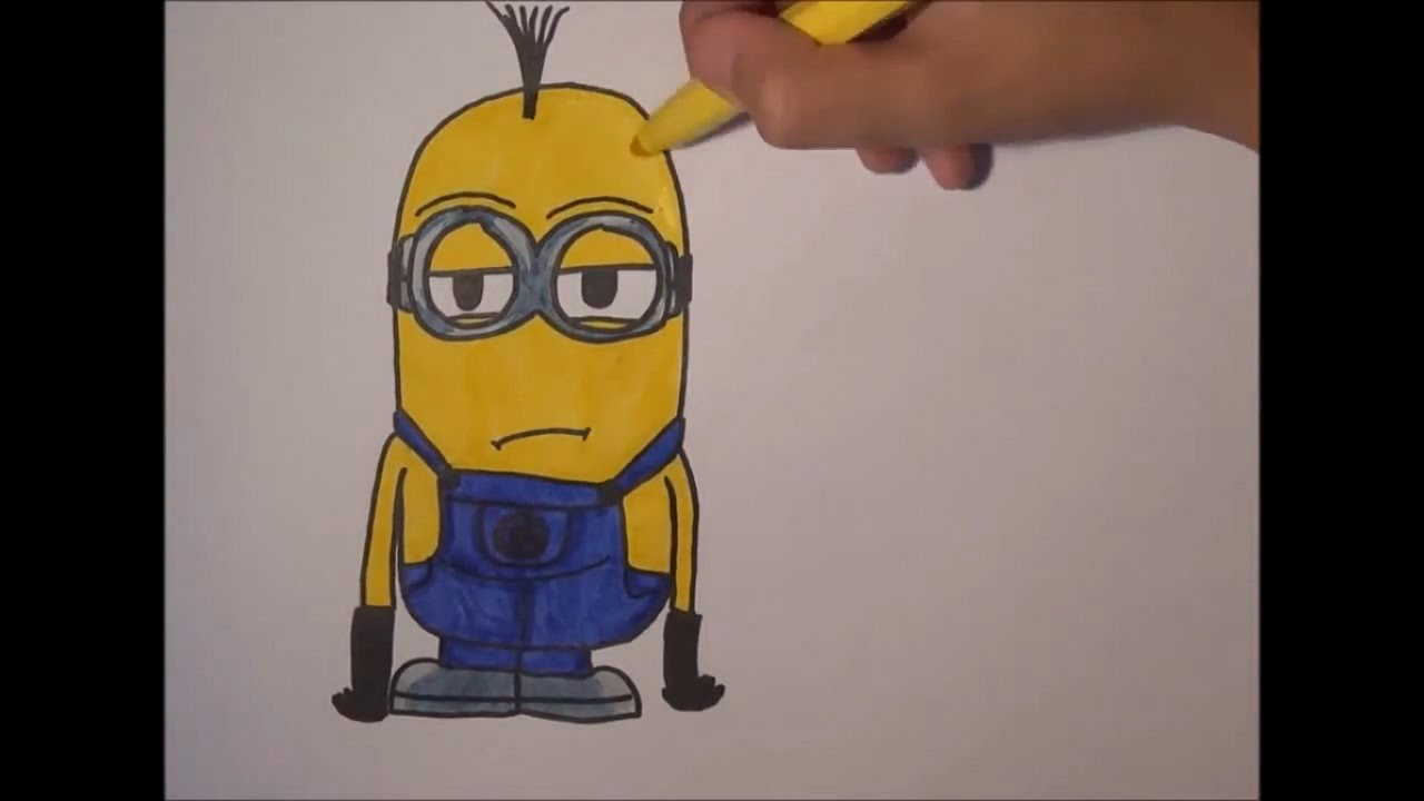 Minions 2015 Speed Drawing