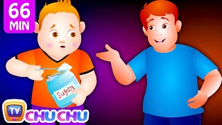 Repeat youtube video Johny Johny Yes Papa and Many More Videos | Popular Nursery Rhymes Collection by ChuChu TV