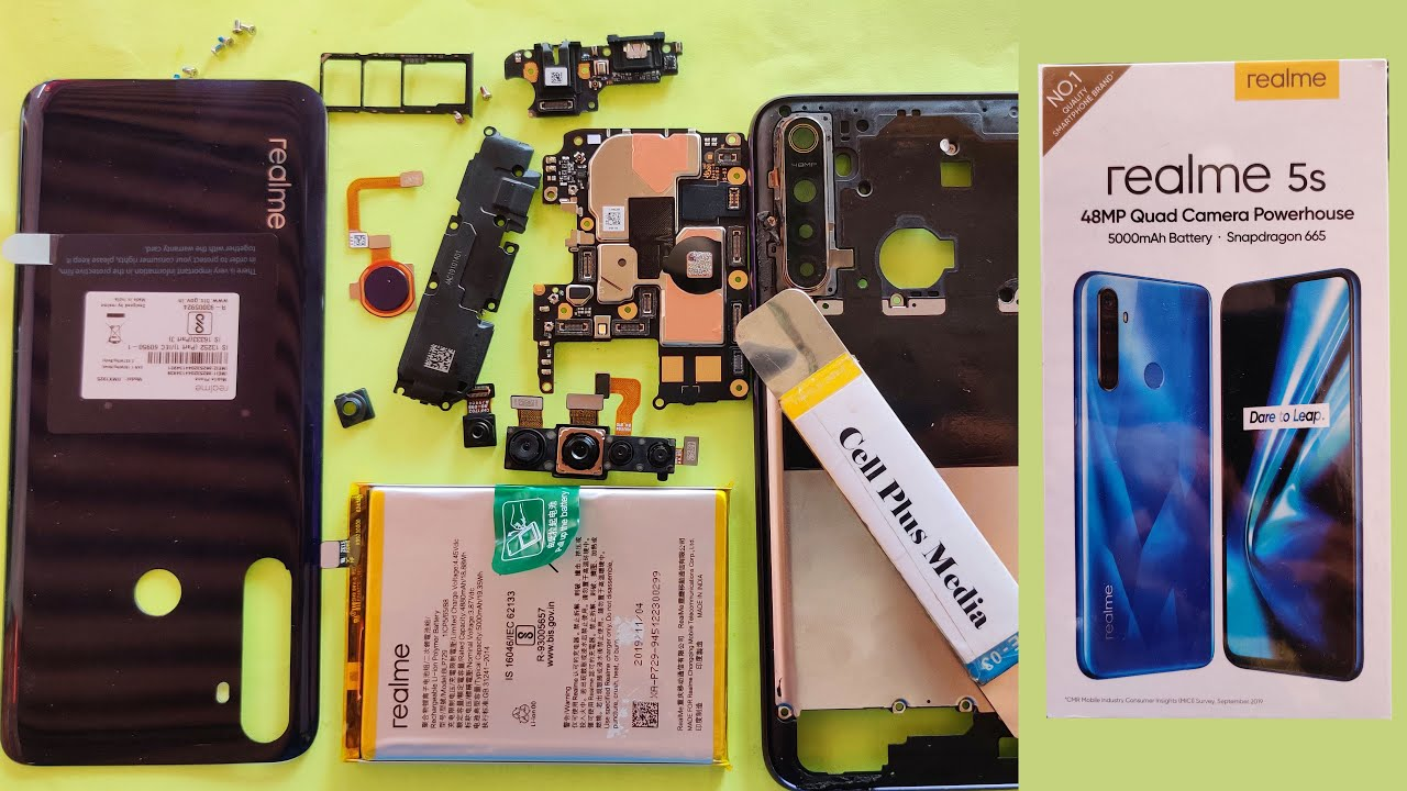 Download Realme 5S Disassembly Repair Guide | Realme 5S Teardown