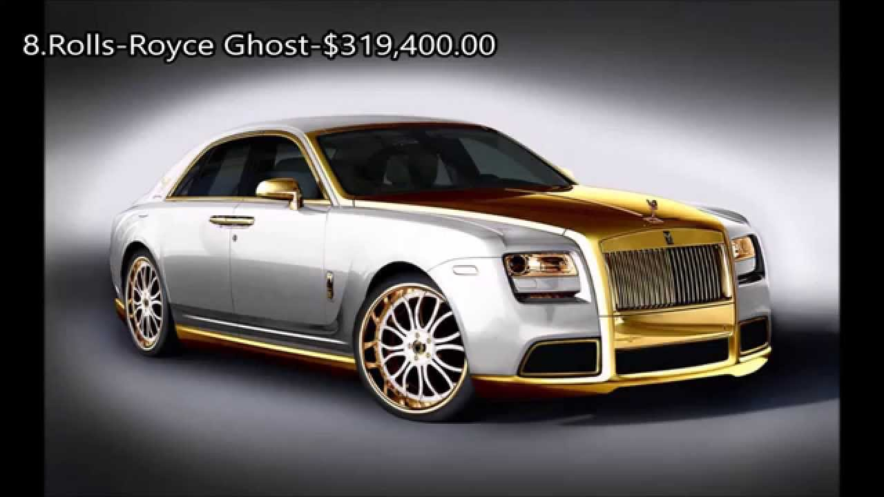 2015-Top 10 Most Expensive Luxury Cars