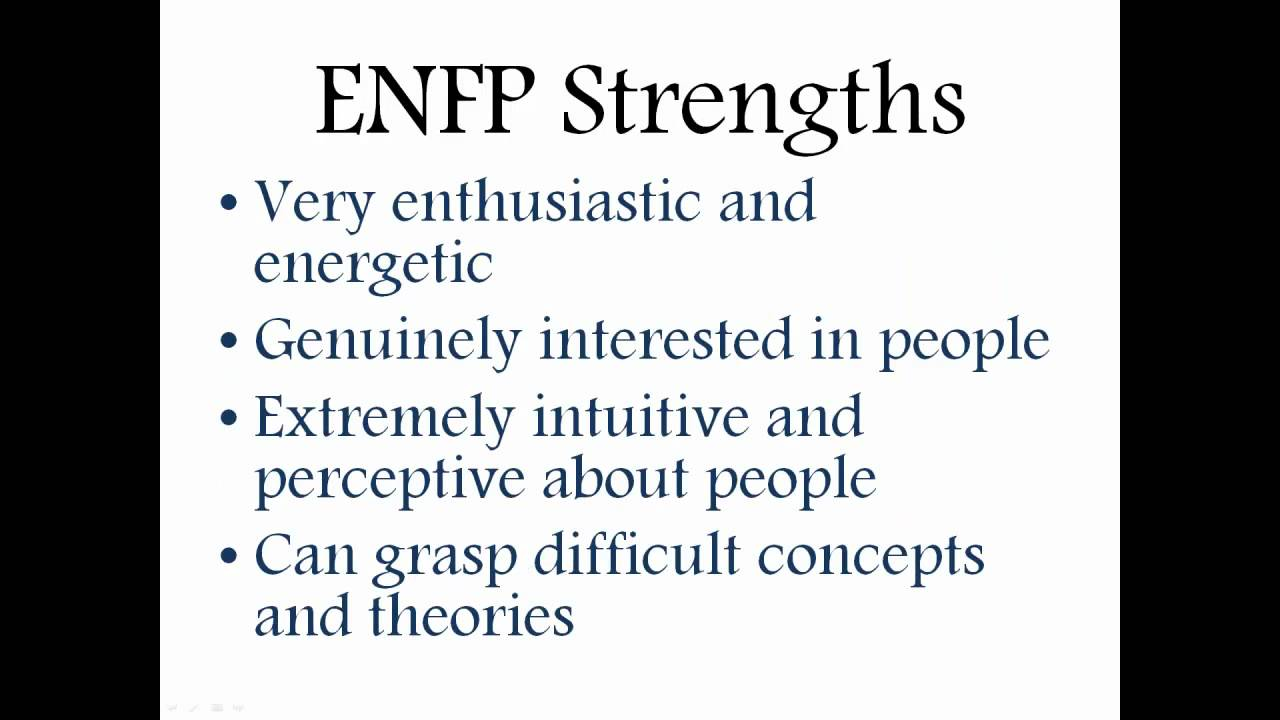 ENFP Personality Description  YouTube
