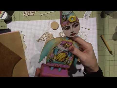 Art Doll Ornament; Part 2
