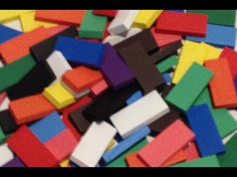 100 New Wooden Dominoes!