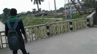 Me and my frnd goes to birpur bridge