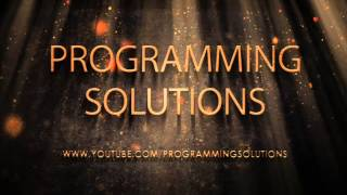 Programming Solutions - C Language Lessons - Sunscribe & Must Watch