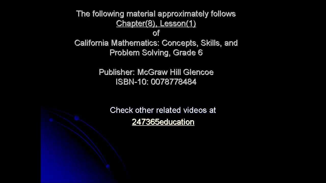 Line Plots (U.S. 6th Grade Level) - YouTube