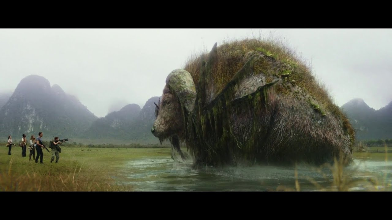 Giant animals | Buffalo | Birds | Mantis | Kong Skull Island (2017) Movie Clip Hd