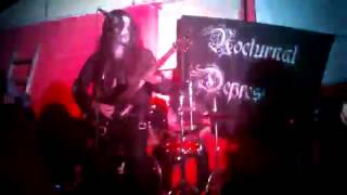 Nocturnal Depression-Her Ghost Haunts These Walls-Live Puebla-Tlaxcala 2013