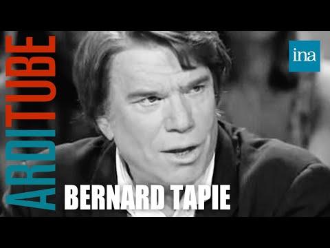 Bernard Tapie chez Thierry Ardisson  Archive INA
