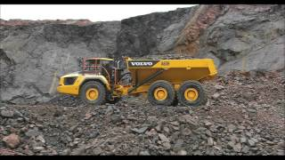 Volvo A60H articulated hauler: Operate comfortably