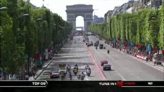 2009 Tour de France Stage 21