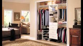 Small Bedroom Closet Decorations Ideas