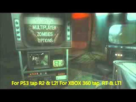 How to Get All Zombie Maps on Call of Duty- Black Ops (PS3+XBOX360 Cheats For Black Ops Ps Zombies Maps on