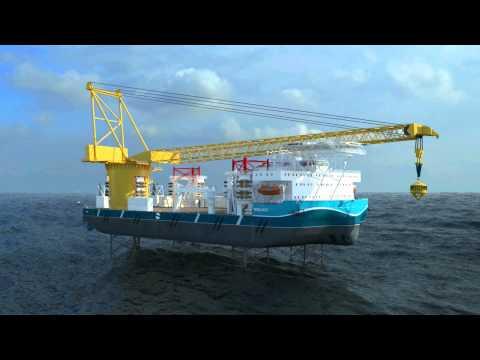 Global Maritime Hexabase Jacket Installation