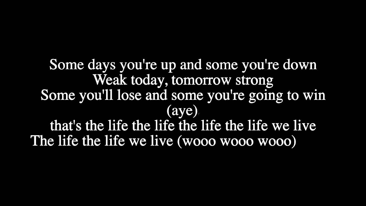 jah cure - life we live (LYRICS) - YouTube