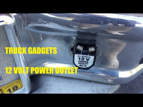 Truck Gadgets | External 12 Volt Power Outlet