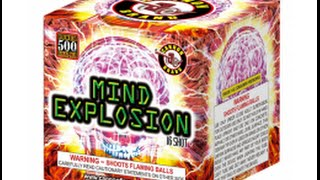 Mind Explosion - Cannon Fireworks
