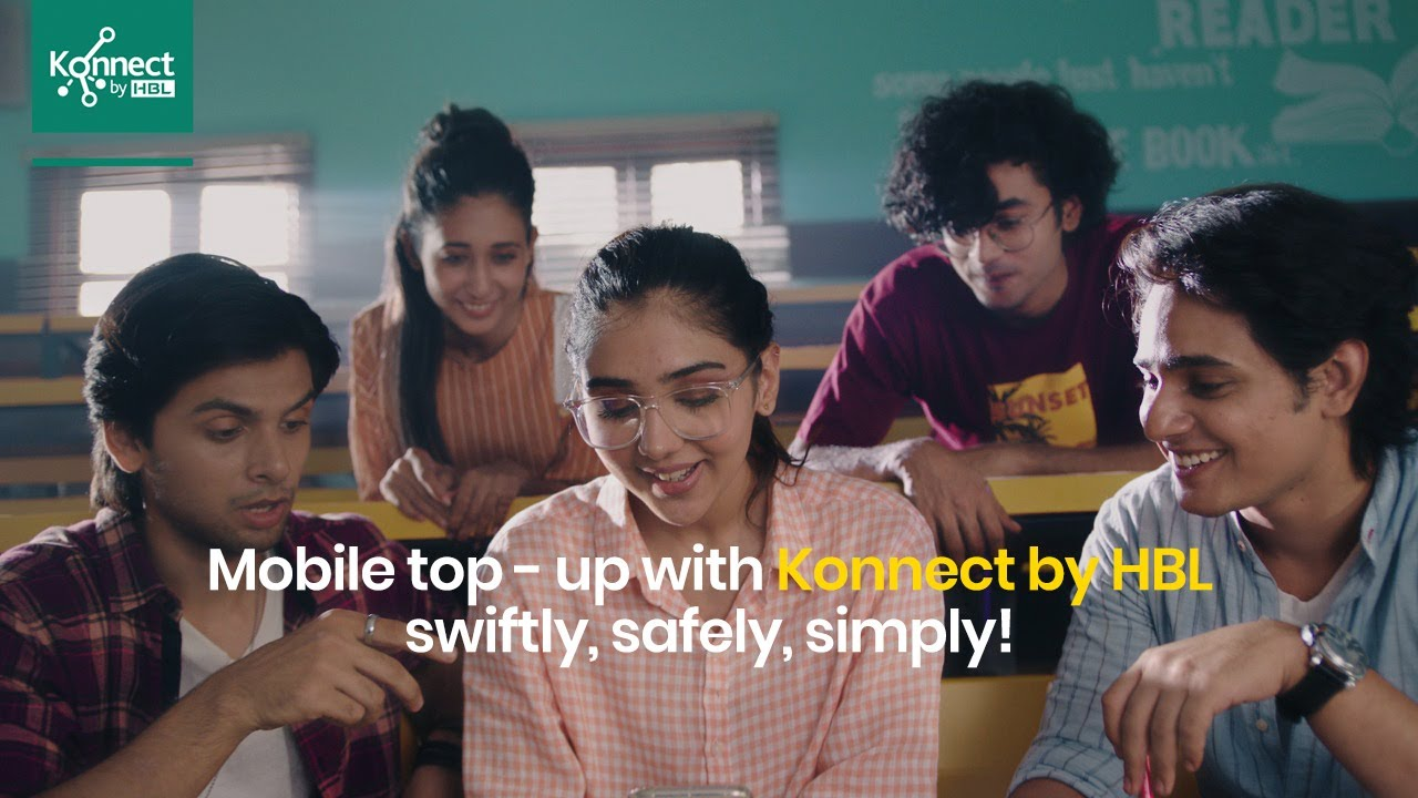 Download Mobile Top Up with Konnect by HBL