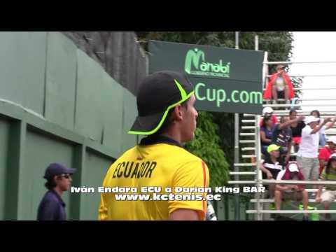 Iván Endara ECU Venció A Darian King BAR En Copa Davis