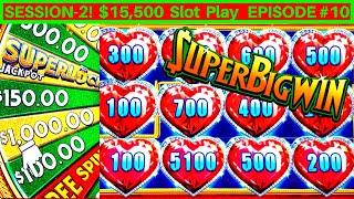 High Limit SUPERLOCK Jackpot Slot Machine ✦MASSIVE WIN✦ | FANTASTIC SESSION | Season 2 EPISODE #10