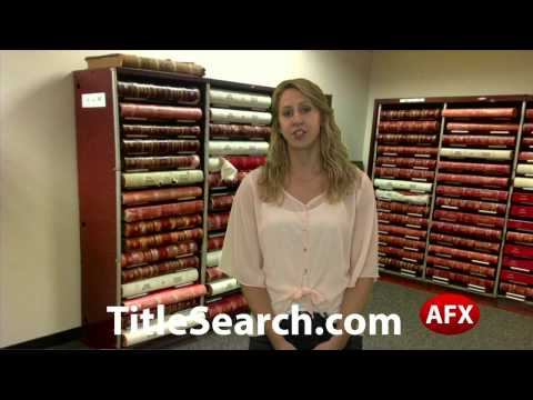 Property title records in San Jacinto County Texas | AFX