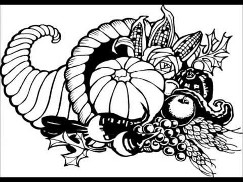 Happy Thanksgiving Day Coloring Pages, Printables Free ...