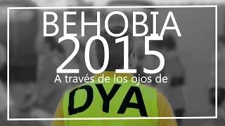 Carrera popular Behobia-San Sebastian. Despligue de DYA Gipuzkoa