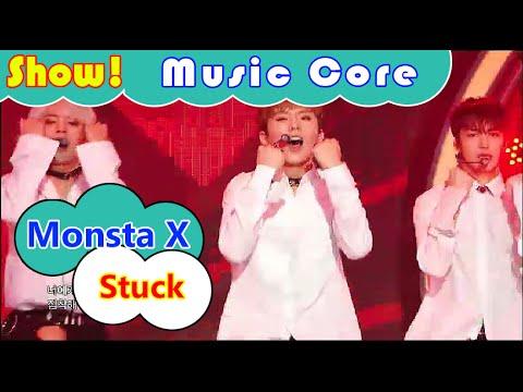 [HOT] Monsta X – Stuck, 몬스타엑스 – 네게만 집착해 Show Music core 20160806