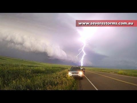 Montana Shelf Cloud Timelapse - 18 June, 2016